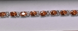 9.95 ct. Morganite Evening Bracelet