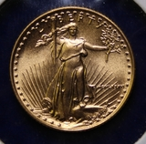 1986 U.S. Gold $5 American Eagle Coin, 1/10oz.