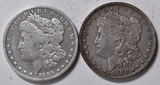1899 & 1900 Morgan Silver Dollars