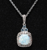 Petite Opal Dinner Necklace