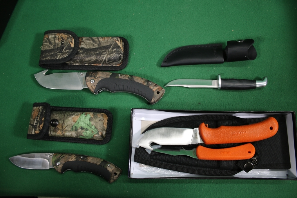 Ruko Knife Assortment 4 Knives Firearms Military Artifacts Auctions Online Proxibid