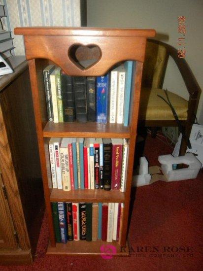 Small Book Shelf with Books