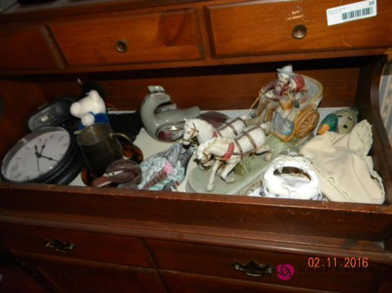 Contents of Dry Sink