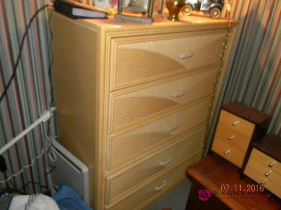 High Boy Dresser and Head Board