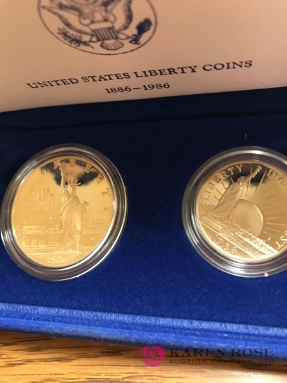 United states liberty coins