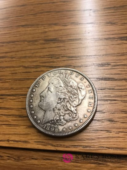 1896 Morgan Silverdollar
