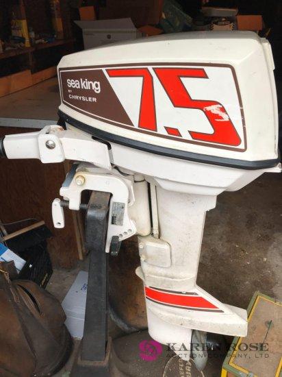 Sea King boat motor