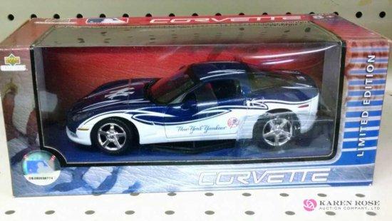 Upper Deck 1/24th scale Yankees Corvette