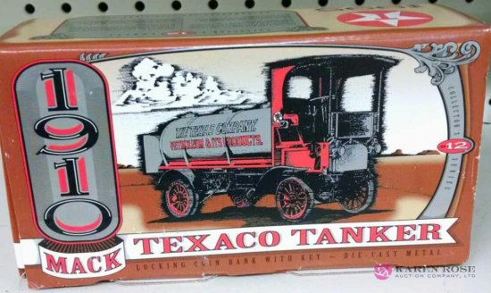 Texaco tanker Ertl diecast Bank