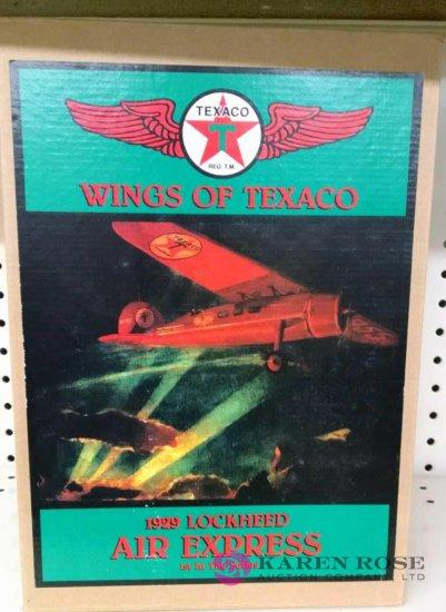 Wings of Texaco Ertl diecast Bank