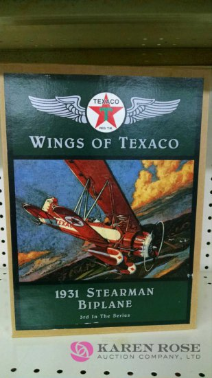 Ertl wings of Texas diecast Bank
