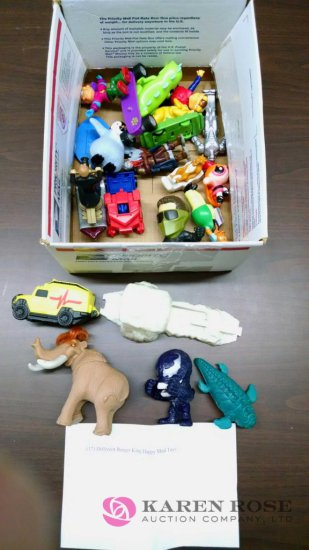 Lot of Seventeen Burger King Happy Meal toys