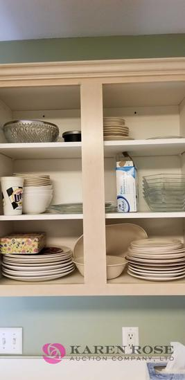 Lot of Whole Cupboard