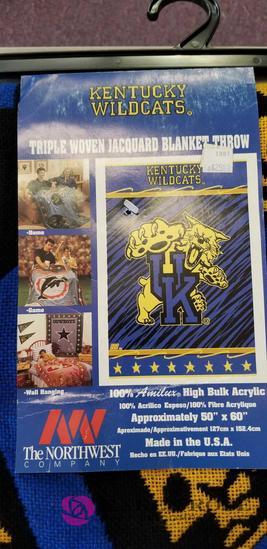 Kentucky Wildcats Blanket