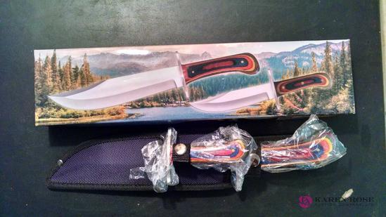 Bowie knife set