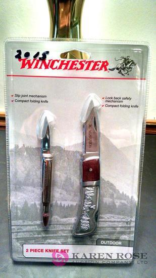 Winchester 2-piece knife set