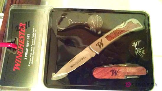Winchester 3-piece gift knife set