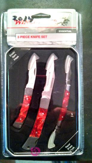 Winchester 3-piece essential knife set