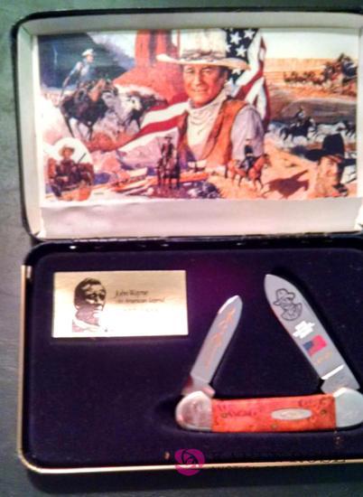 Case John Wayne commemorative pocket knife