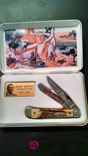 Case John Wayne commemorative knife