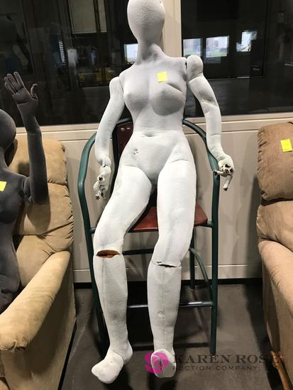 Stopsy Full size mannequin pos    Auctions Online   Proxibid