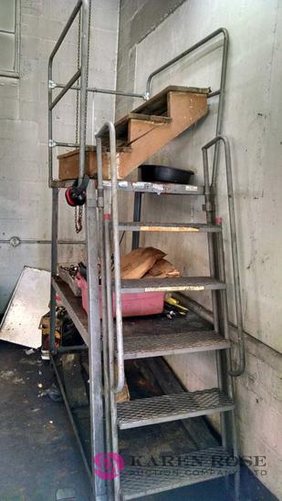 Warehouse ladder. Ladder only no contents