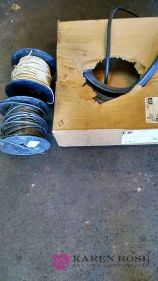 2 rolls of wire and new hose