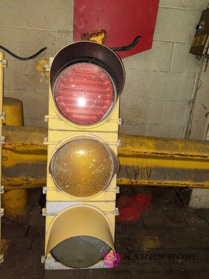 Oversized Traffic Light Fixture