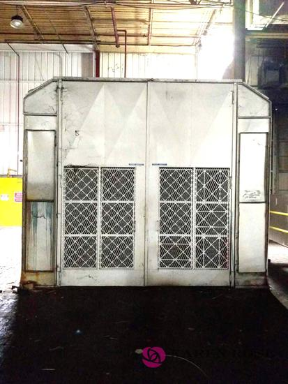 Large Paint Booth