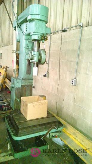 Leland Gifford industrial drill press