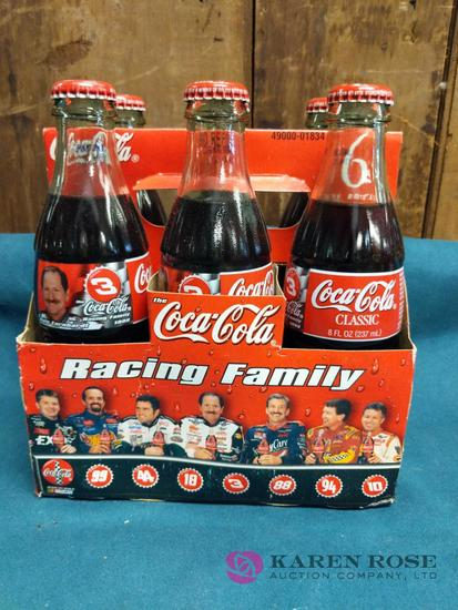 Dale Ernhardt Collectible Coca Cola Bottles
