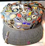 Train Hat With Pins