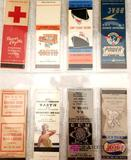 Vintage Miscellaneous Matchbook Covers