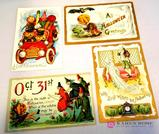 Antique Halloween Post Cards