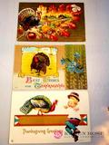 Antique Thanksgiving Post Cards