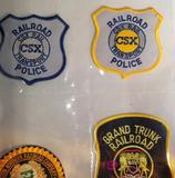 Railroad Police Patches