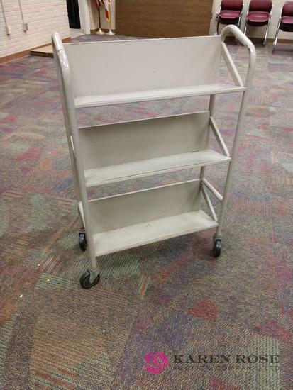 28 inch book cart