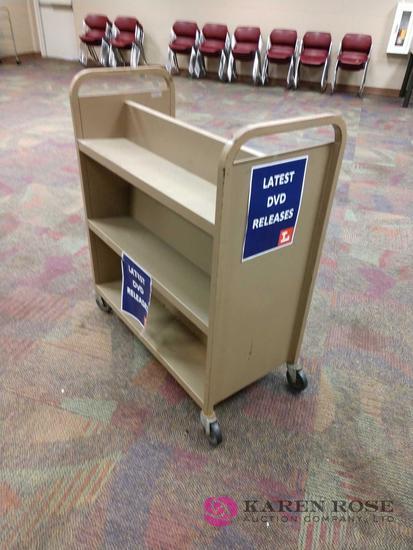 36in book cart
