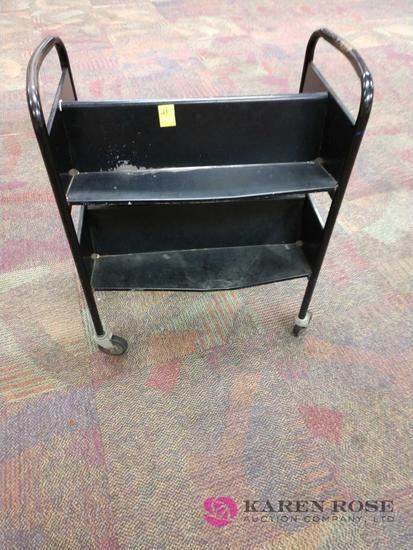 30 inch book cart