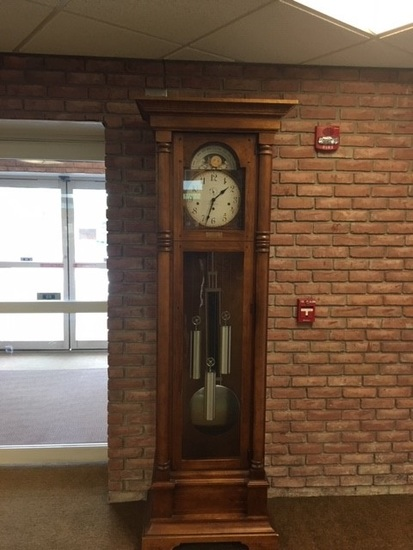 grand father clock mint condition