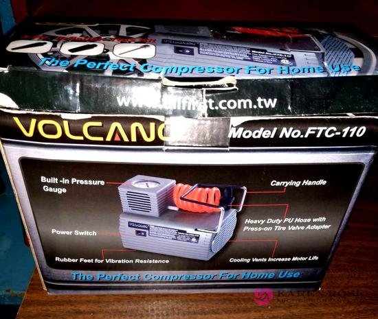 Volcano portable air compressor