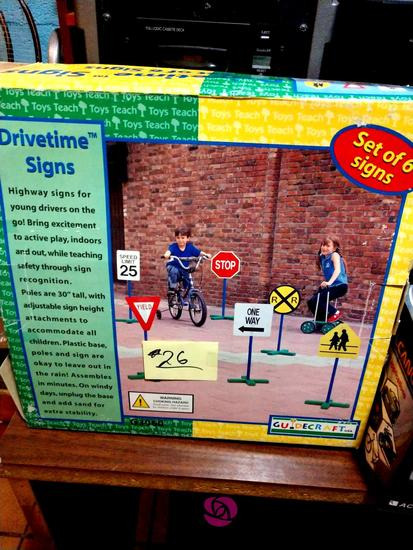 Drivetime signs