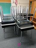 Room 202 22 metal school desks