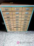 27 drawer file cabinet