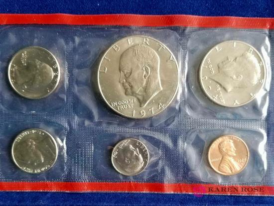 1974 Uncirculated Coins