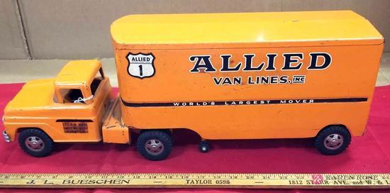 Tonka Allied Van Lines Tractor-Trailer