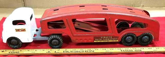 Structo Car Hauler Tractor-Trailer