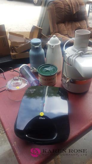 Kitchen lot coffee thermos, juicer, C1