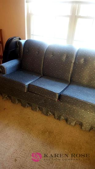 Flower pattern couch