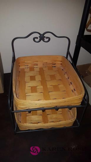 Longaberger file basket